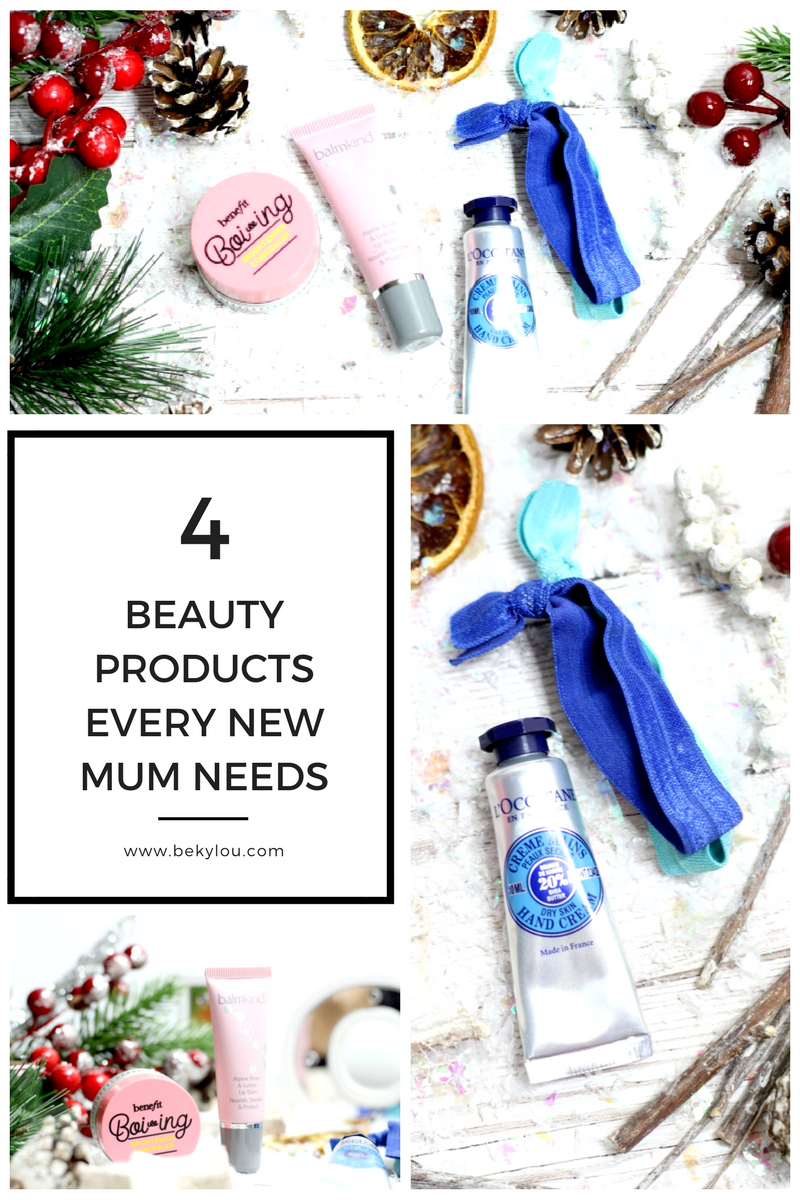 4 beauty products for a new mum