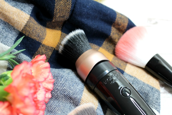 magnitone blend up! vibrating makeup brush