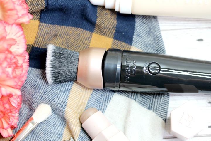 magnitone blend up! vibrating makeup brush
