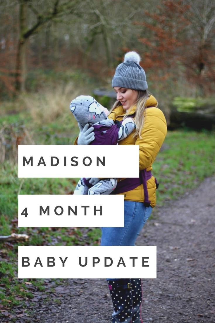 4 month update