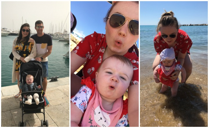 taking a 6 month old abroad