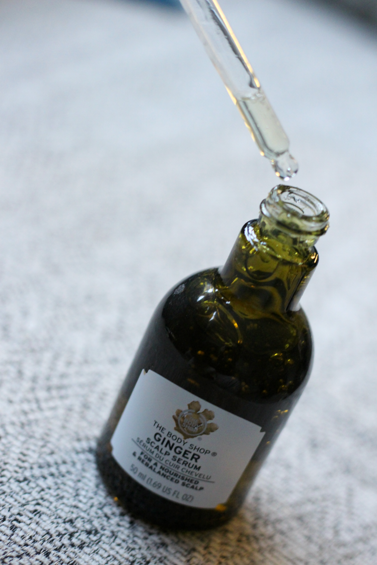 ginger scalp serum
